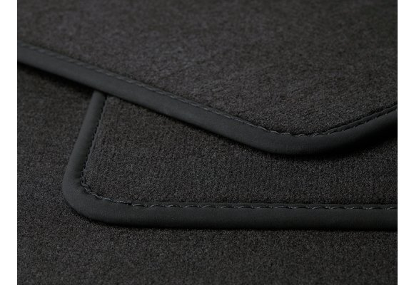 Velours kofferbakmat Audi A6