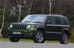 Kofferbakmatten Jeep Patriot.